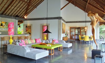 Villa Nature Living Area | Ubud, Bali