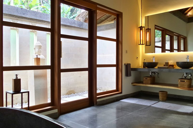 Villa Nature Bathroom Area | Ubud, Bali