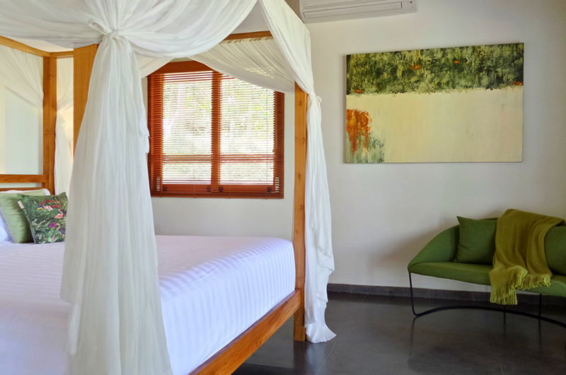 Villa Nature Bedroom with Paint | Ubud, Bali