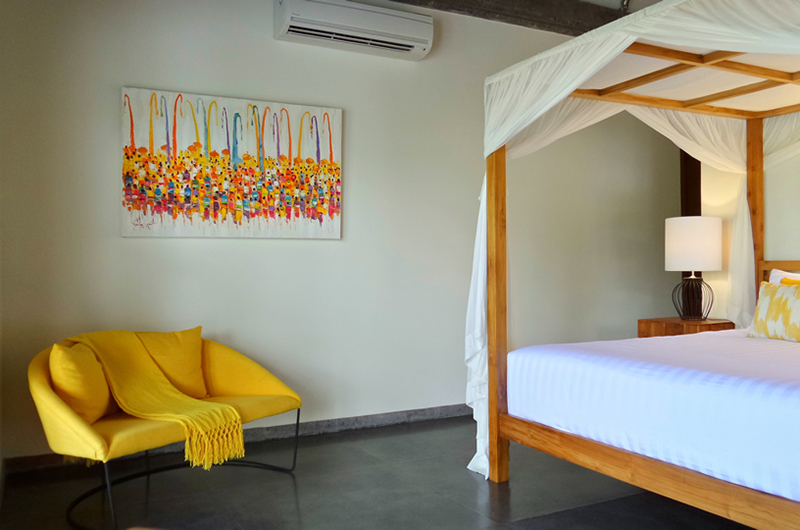 Villa Nature Bedroom with Seating | Ubud, Bali