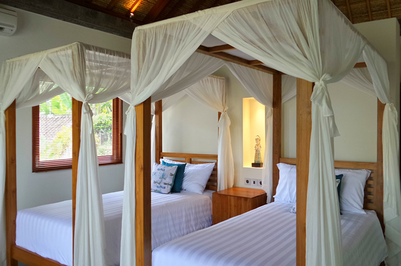 Villa Nature Twin Beds Area | Ubud, Bali