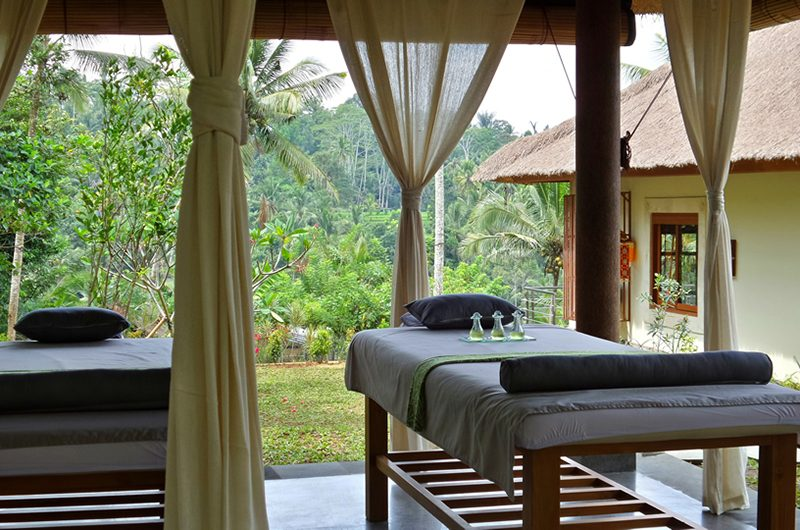 Villa Nature Massage Beds | Ubud, Bali