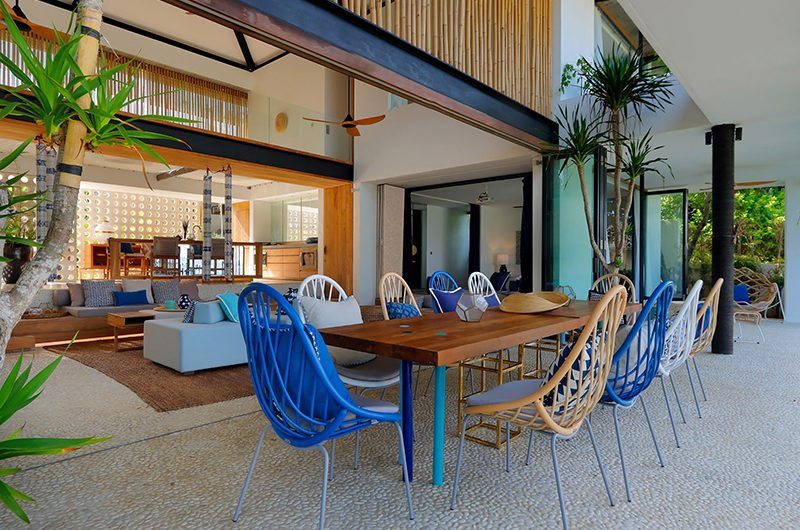 Villa Seascape Dining Area | Nusa Lembongan, Bali