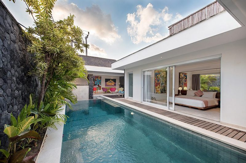 Villa Yasmee Bedroom with Pool View | Seminyak, Bali