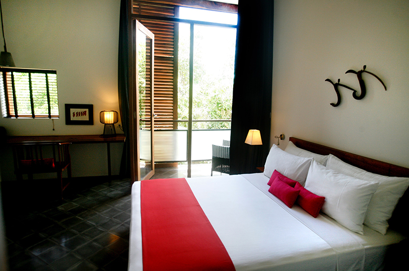 Villa Ni Say Bedroom Area with Balcony | Siem Reap, Cambodia