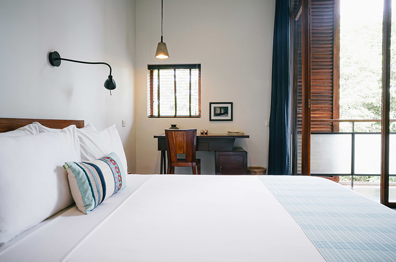 Villa Ni Say Bedroom with Study Table | Siem Reap, Cambodia