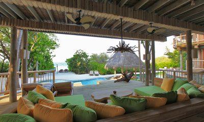 Soneva Fushi Jungle Reserve Open Plan Seating | Baa Atoll, Maldives