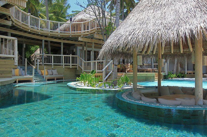 Soneva Fushi Jungle Reserve Pool Lounge | Baa Atoll, Maldives