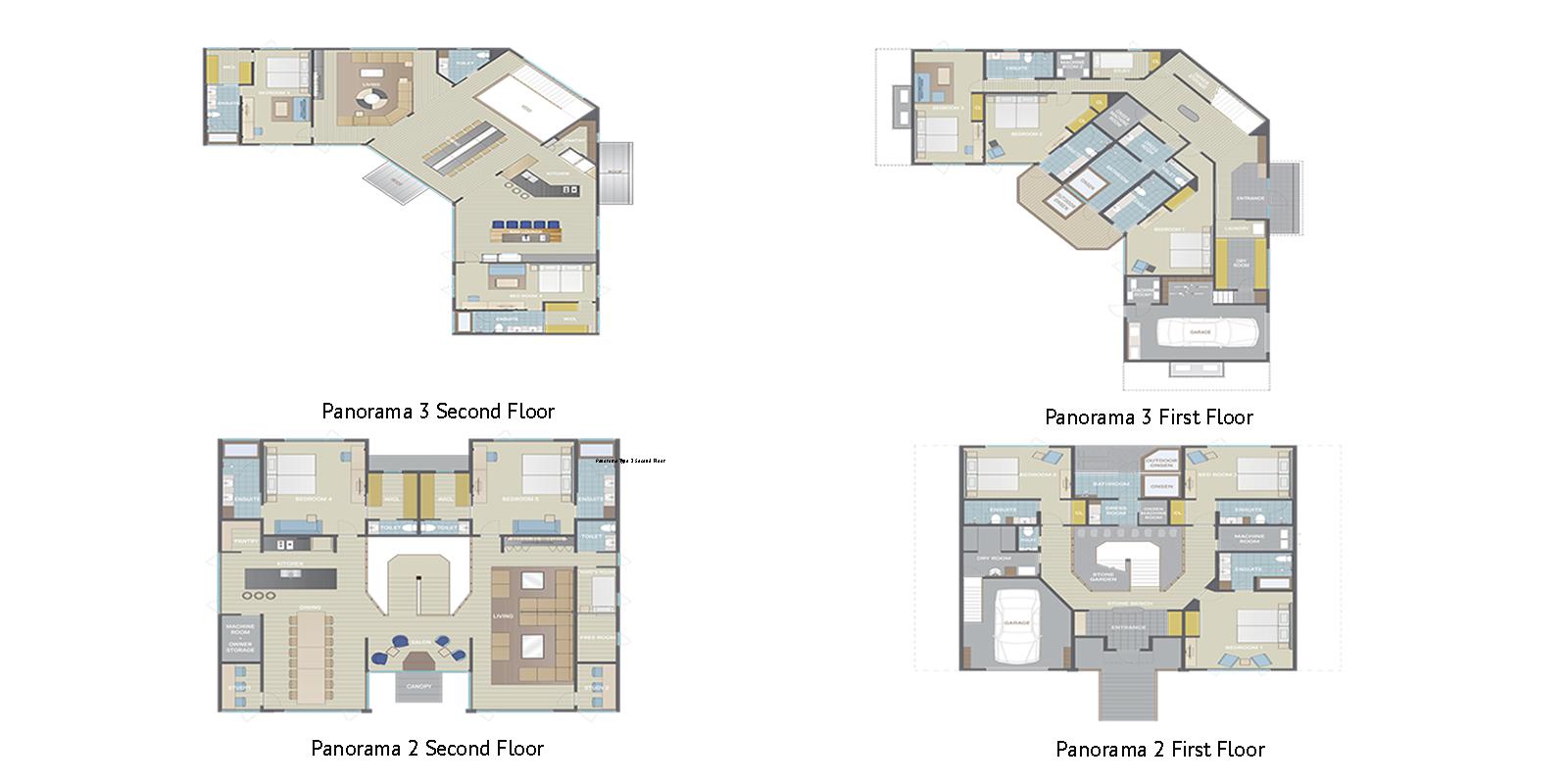 Panorama Niseko Floor Plan | Hirafu, Niseko