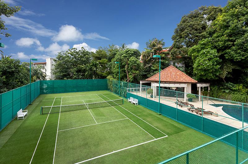 Makata Villas Club House Tennis Court   Phuket, Thailand