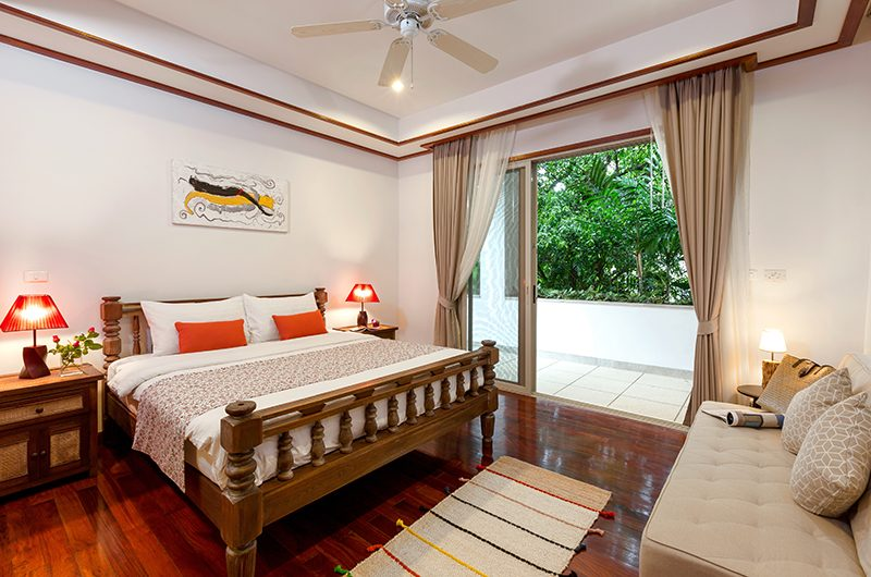 Makata Villas One Guest Bathroom with Seating | Phuket, Thailand