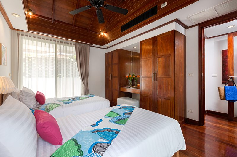 Makata Villas One Twin Bedroom Area | Phuket, Thailand