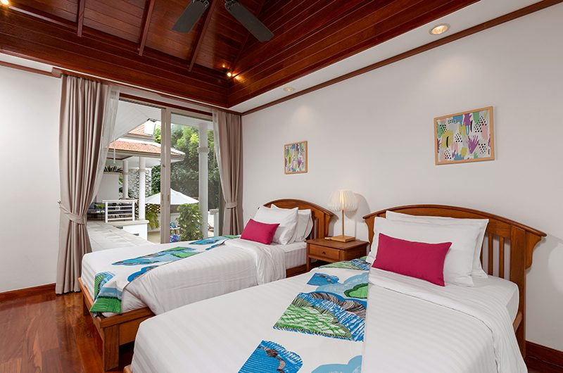 Makata Villas One Twin Bedroom | Phuket, Thailand