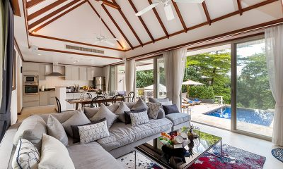 Makata Villas One Living and Dining Area | Phuket, Thailand