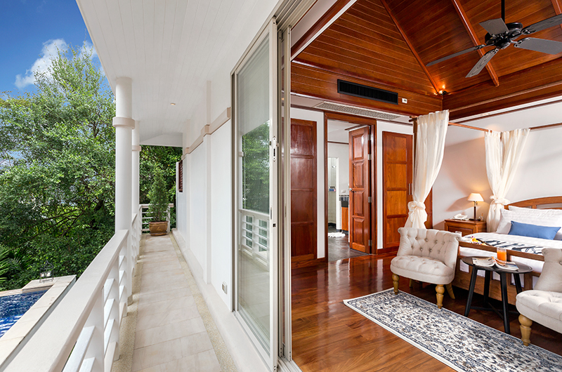 Makata Villas One Master Bedroom with Balcony | Phuket, Thailand