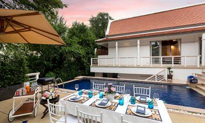 Makata Villas Open Plan Dining Area | Phuket, Thailand