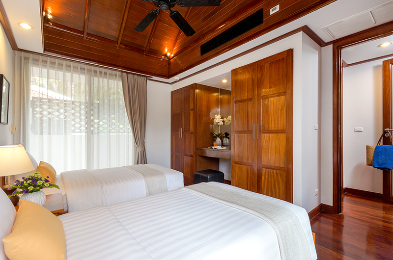 Makata Villas Two Twin Bedroom Area | Phuket, Thailand