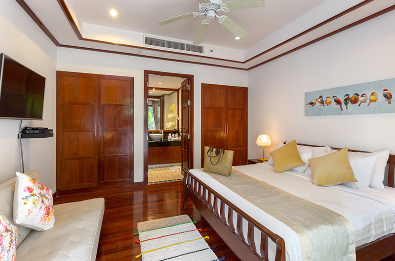 Makata Villas Two Guest Bedroom with TV | Phuket, Thailand