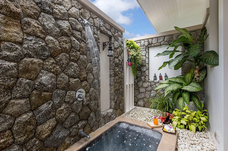 Makata Villas Two Outdoor Shower | Phuket, Thailand