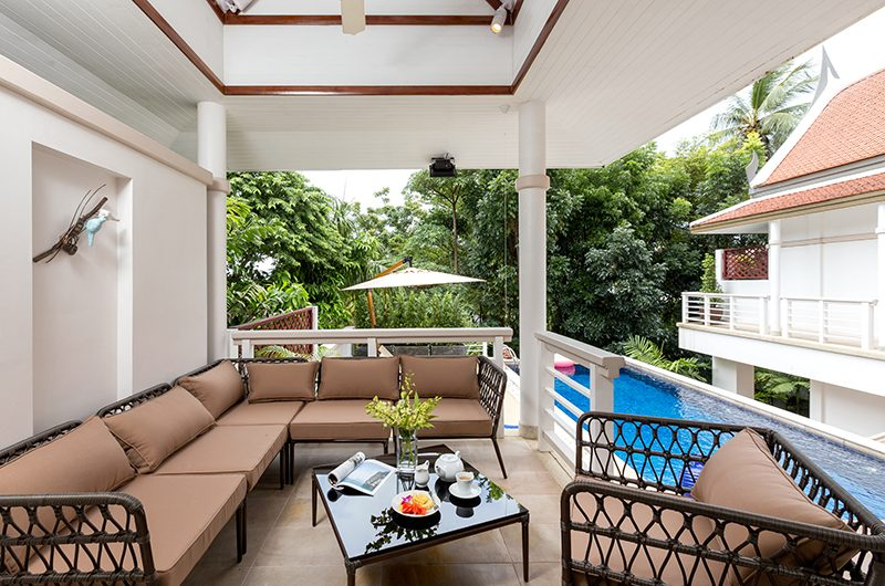 Makata Villas Two Living Area | Phuket, Thailand