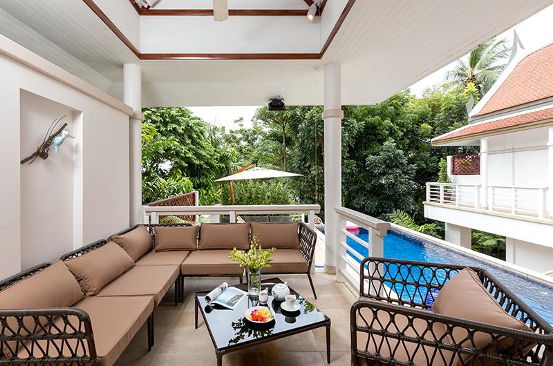 Makata Villas Two Living Area   Phuket, Thailand