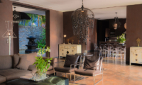Villa Saanti Dining and Living Area | Natai, Phang Nga