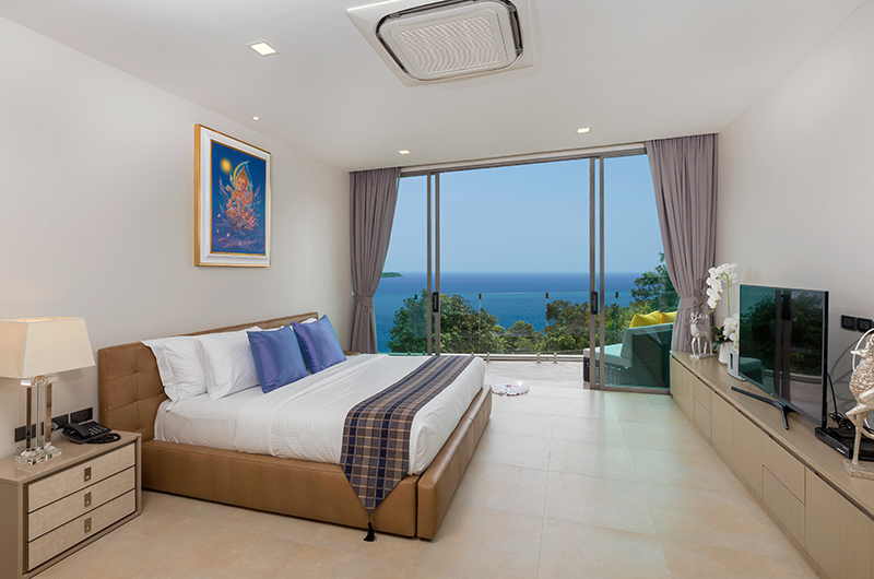 Villa Thousand Hills Guest Bedroom Two with TV | Phuket, Thailand