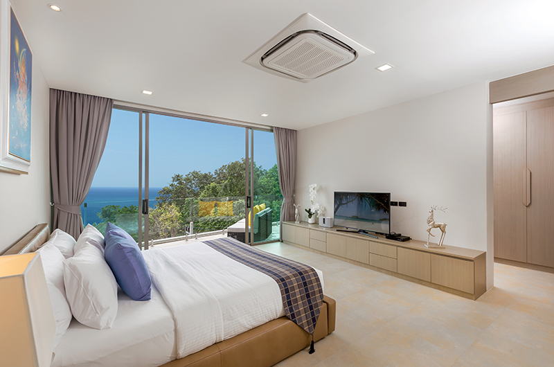 Villa Thousand Hills Guest Bedroom Two with Balcony | Phuket, Thailand