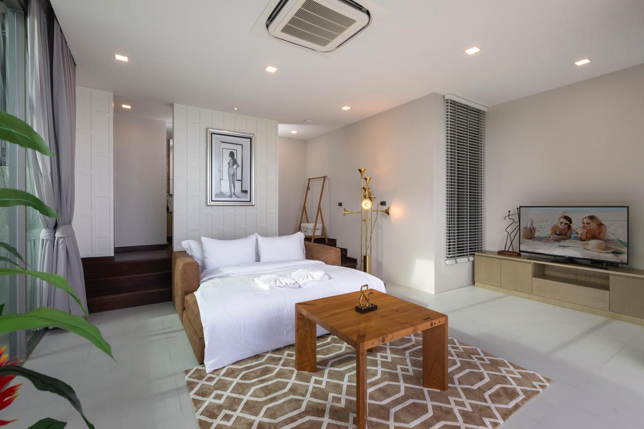 Villa Thousand Hills Bedroom with TV | Phuket, Thailand