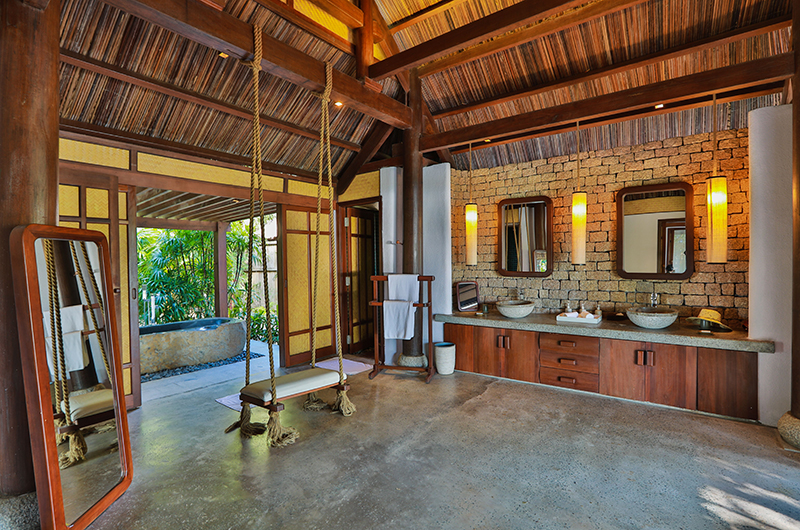 Lalyana Beach Pool Villas Bathroom Area | Ninh Van Bay, Vietnam