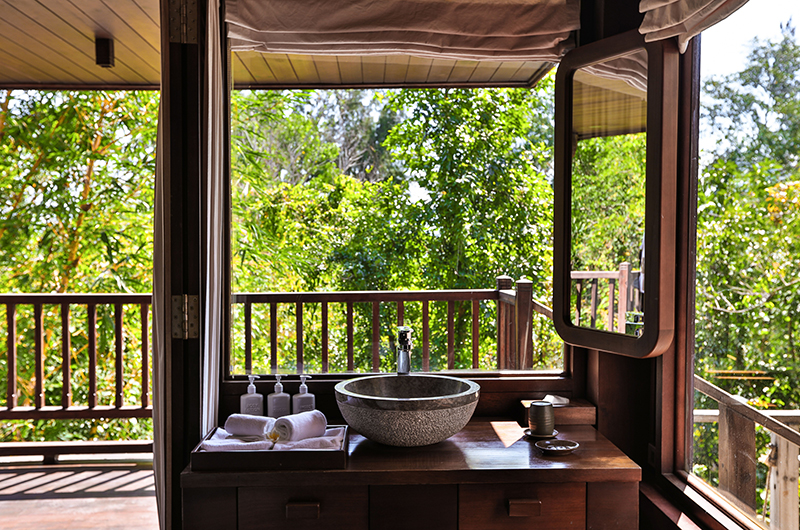 Lalyana Hill Rock Pool Villas Bathroom Area | Ninh Van Bay, Vietnam