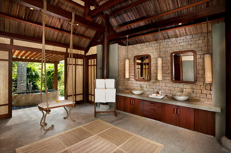 Lalyana Lagoon Pool Villas Bathroom | Ninh Van Bay, Vietnam