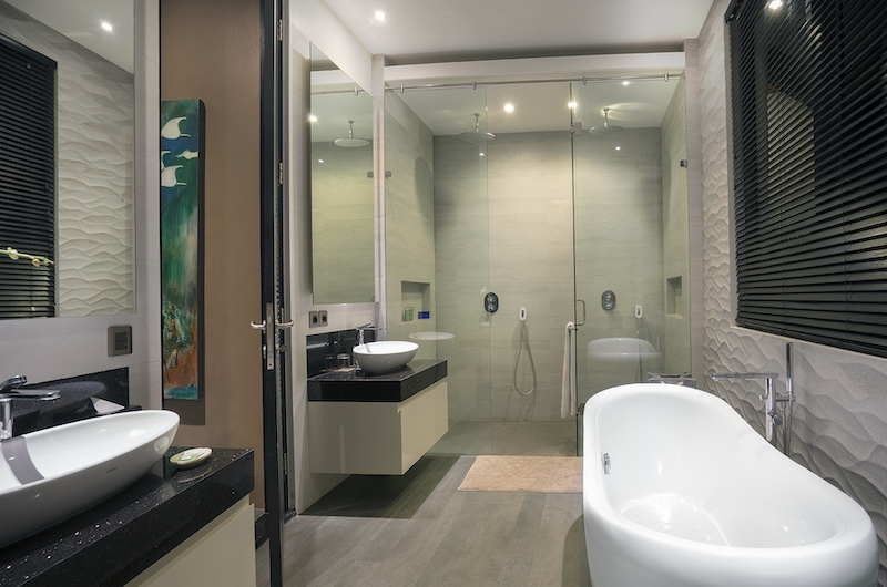 Villa Balimu Bathroom Three with Bathtub | Seminyak, Bali