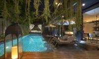 Villa Balimu Pool Night View | Seminyak, Bali