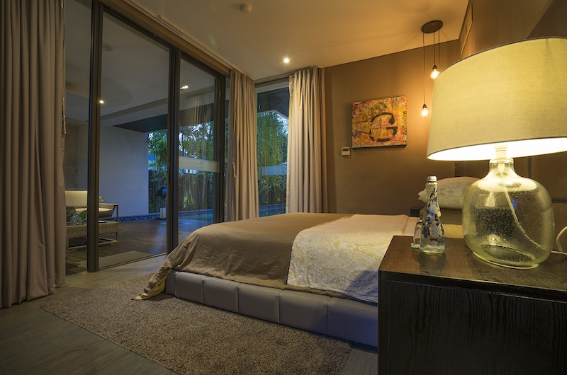 Villa Balimu Bedroom with Pool Views | Seminyak, Bali