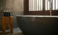 Villa Indrani Bathroom with Supplies   Canggu, Bali