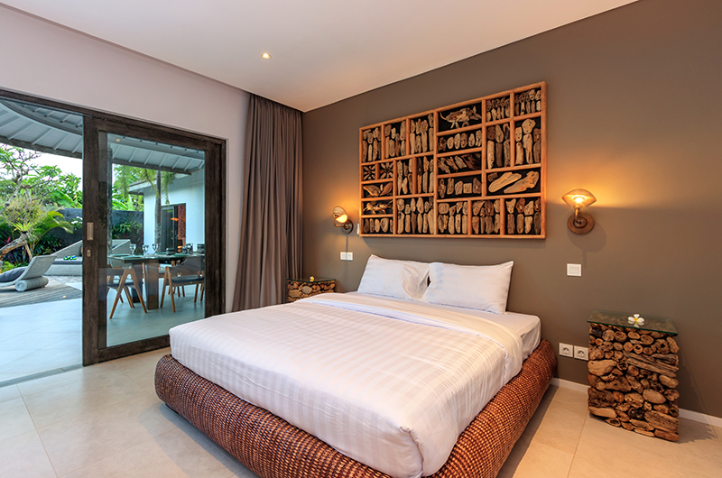 Villa Ohana Bedroom Two with Pool View | Kerobokan, Bali