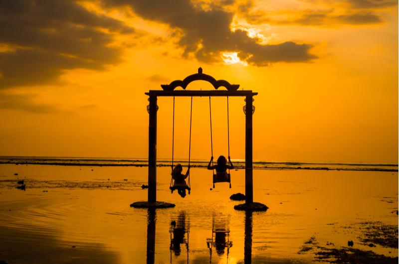 Gili Trawangan Sunset Swing
