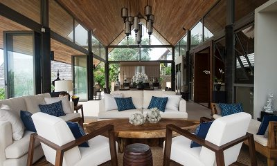 Purana Residence Living Area | Bophut, Koh Samui