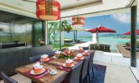 Villa Sangkachai Dining Area | Choeng Mon, Koh Samui