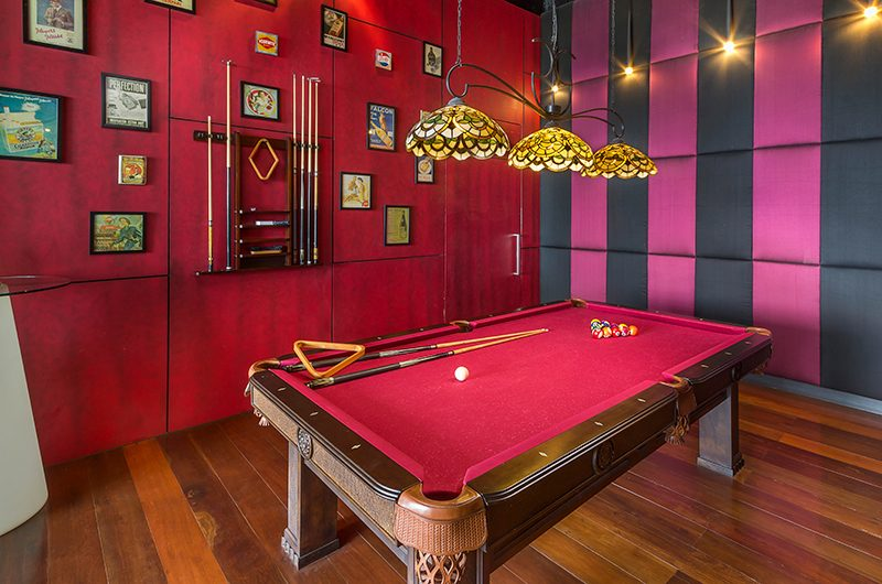 Villa Sangkachai Pool Table | Choeng Mon, Koh Samui