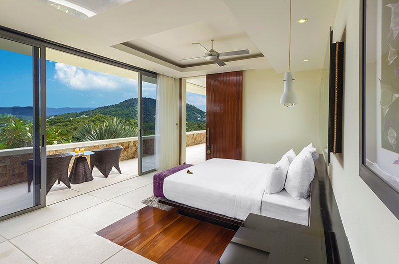 Villa Sangkachai Bedroom Two with Balcony | Choeng Mon, Koh Samui