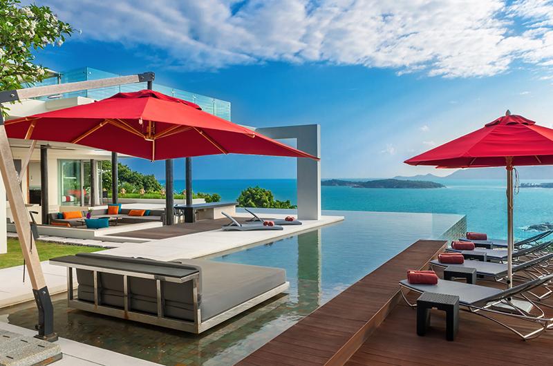 Villa Sangkachai Swimming Pool Area | Choeng Mon, Koh Samui