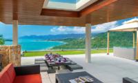 Villa Sangkachai Rooftop Dining Area | Choeng Mon, Koh Samui