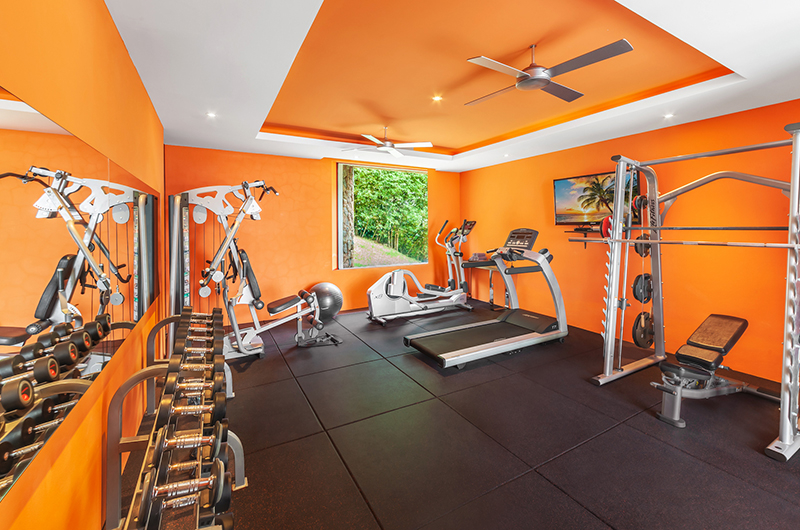 Villa Sangkachai Gym Area | Choeng Mon, Koh Samui