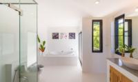 White Stone Bathroom Area | Nathon, Koh Samui