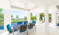 White Stone Open Plan Dining Table | Nathon, Koh Samui