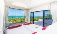 White Stone Twin Bedroom with Balcony | Nathon, Koh Samui