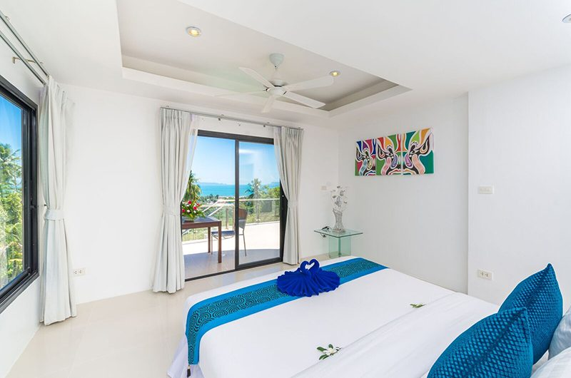 White Stone Bedroom Two with Balcony | Nathon, Koh Samui