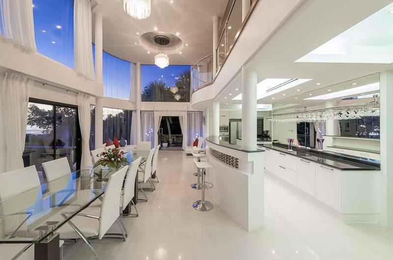 White Stone Dining and Kitchen Area | Nathon, Koh Samui